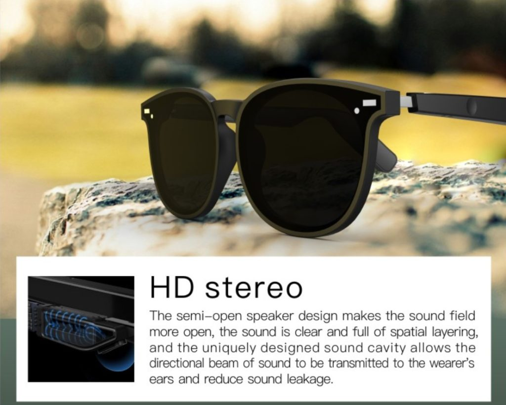 Smart Eyewear BT303-Outdoor sports assistant