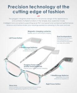 Open Ear Smart Glasses