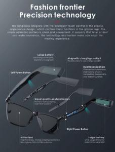 Sunglasses With Speakers