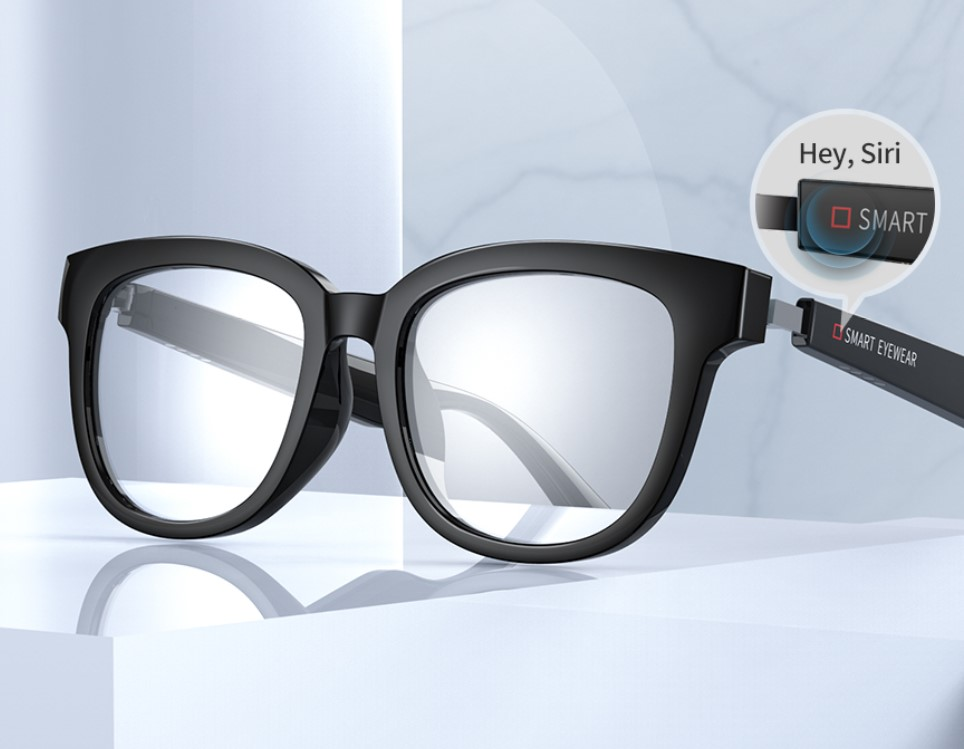 Smart Eyewear is the lightest, stylish way to get music without headphones - and one that's quite worth it.