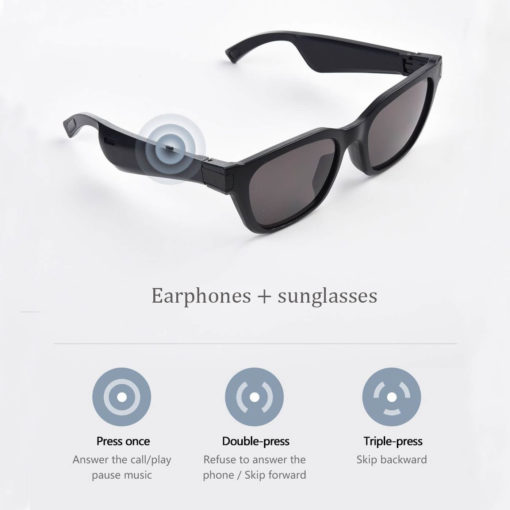 Smart Glasses With Bone Conduction