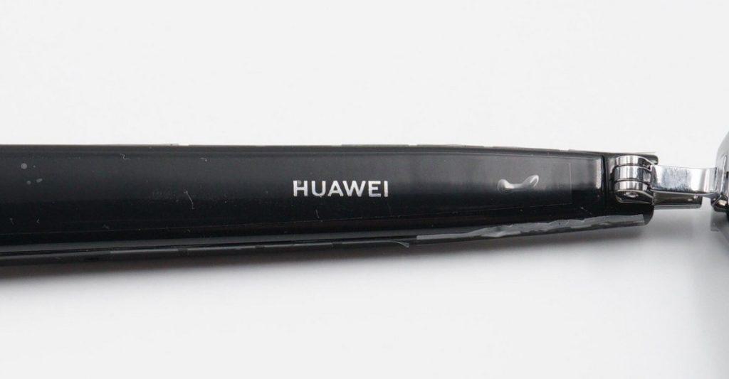 Huawei Eyewear II smart glasses left temple