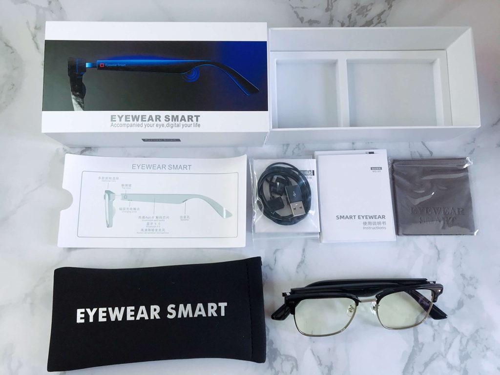 Bluetooth audio sunglasses packaging
