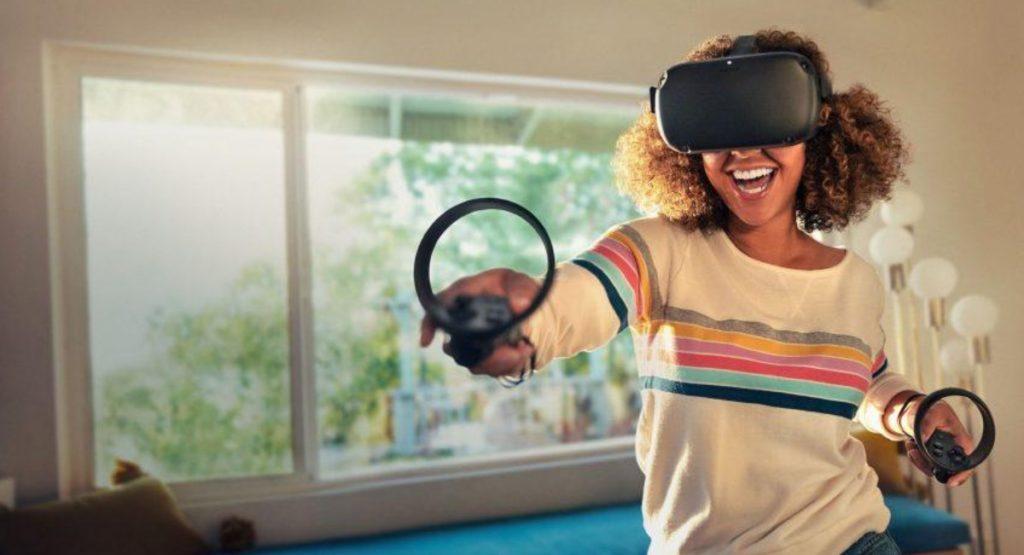 VR smart glasses