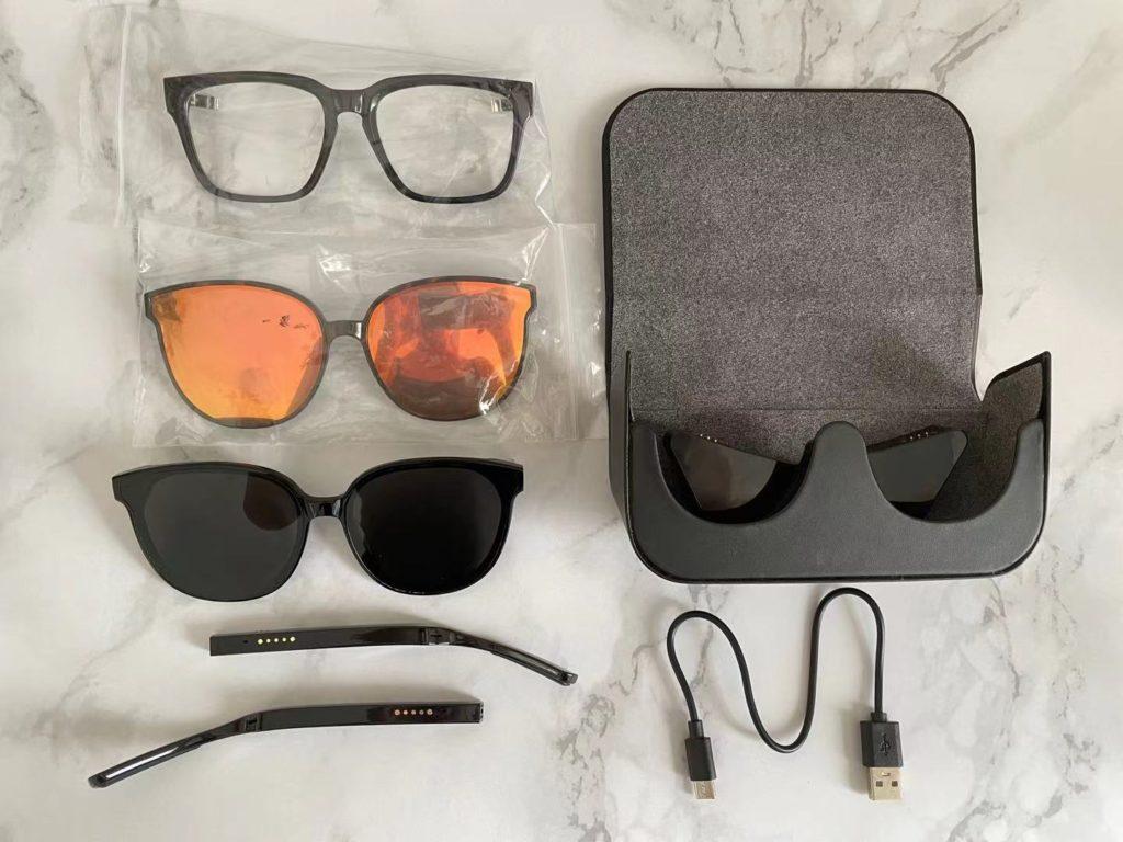 Bluetooth wireless glasses