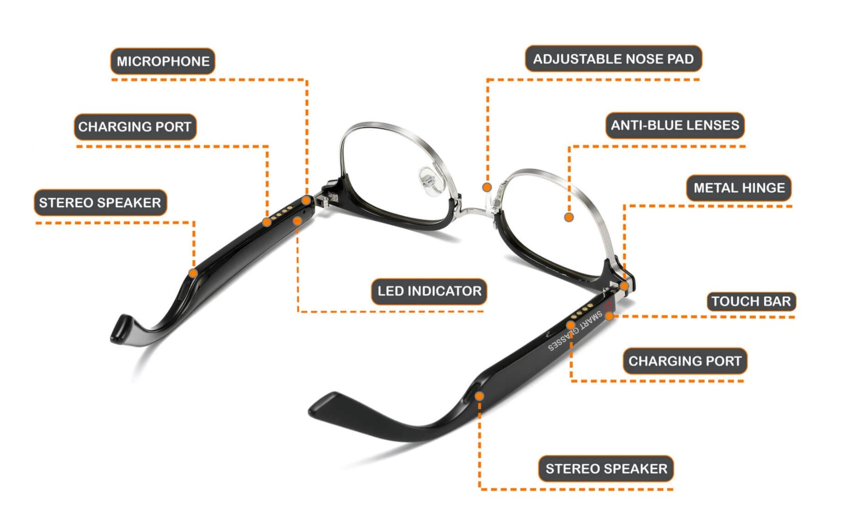 Corsca Bluetooth sunglasses