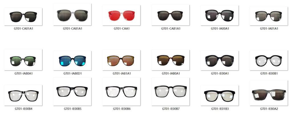 GT01 18 design frames