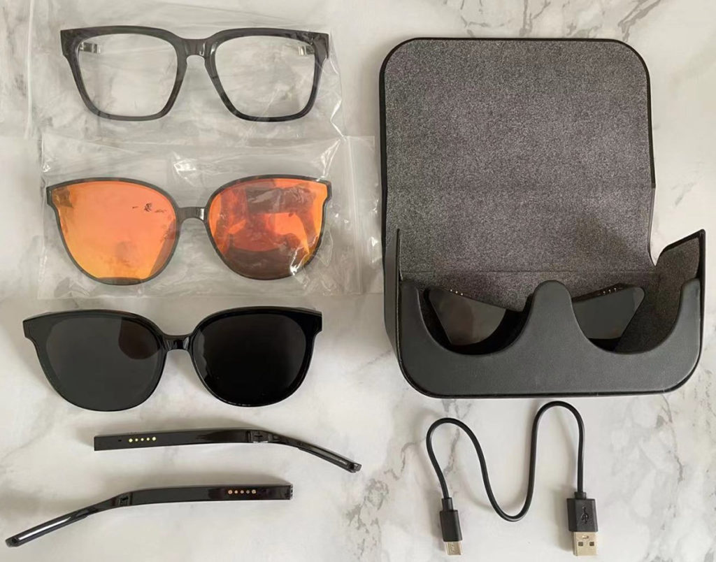 GT01 smart audio glasses