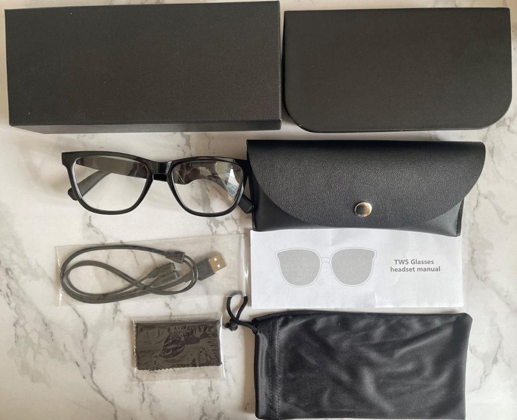 GT01 smart voice glasses