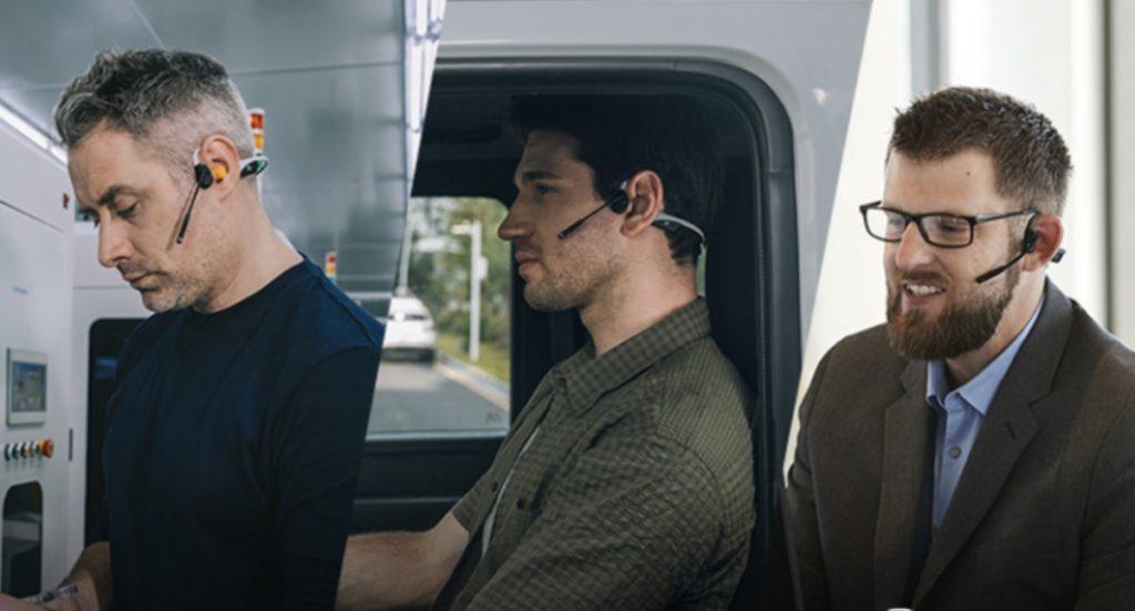 Bone conduction customer service, takeaway earphones