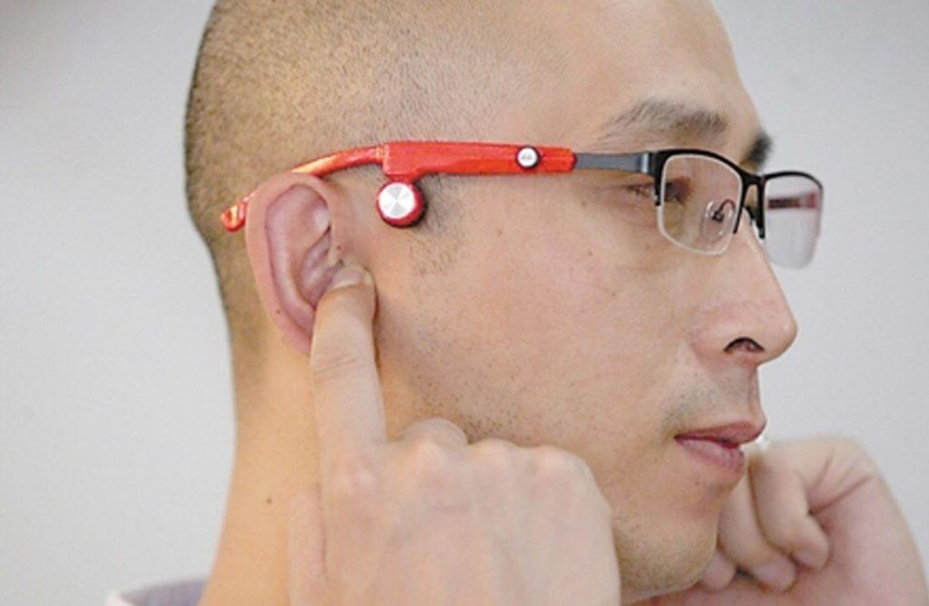 Bone conduction headphones+