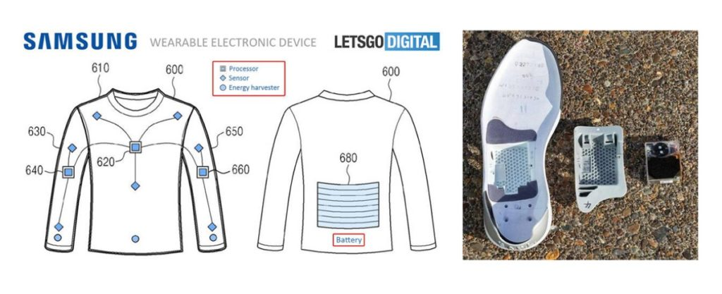 Smart clothes smart sports shoes
