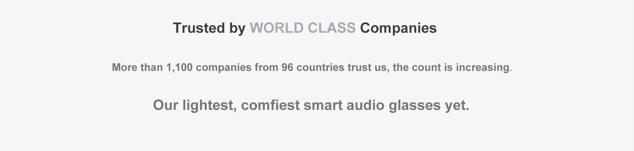corsca wireless audio glasses